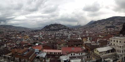 Quito, Ecuador from Above