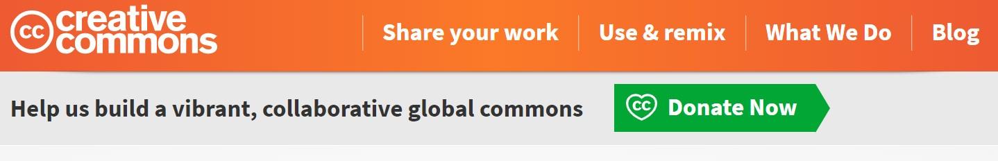 Creative Commons Header